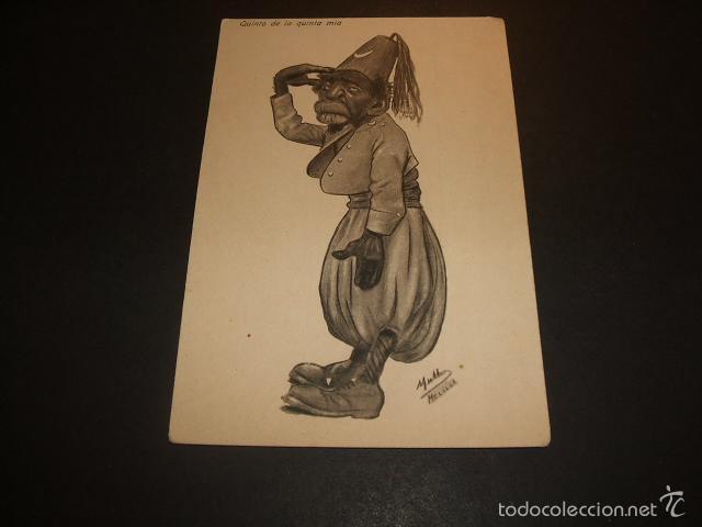 MELILLA POSTAL HUMORISTICA ED. BOIX HERMANOS MELILLA (Postales - España - Melilla Antigua (hasta 1939))
