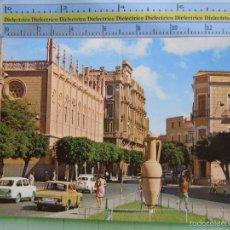 Postales: POSTAL DE MELILLA. AÑO 1969. CALLE PEDRO ALARCÓN, ÁNFORA, COCHES SEAT RENAULT. 1421. Lote 57190342