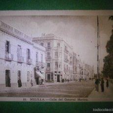 Postales: POSTAL - ESPAÑA - MELILLA - 10 CALLE GENERAL MARINA - L. ROISIN - SIN USO - . Lote 57499811