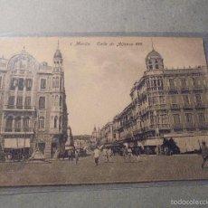 Postales: 1.- MELILLA , CALLE DE ALFONSO XIII. EDC. BOIX HERMANOS - 14X9 CM. . Lote 57511084
