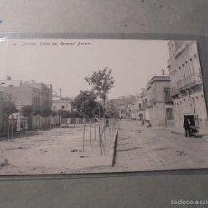 Postales: 12 - MELILLA . CALLE DEL GENERAL BUCETA . EDC. BOIX HERMANOS - 14X9 CM. . Lote 57511400