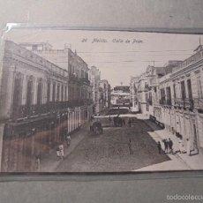 Postales: 26 - MELILLA , CALLE DE PRIM , EDC. BOIX HERMANOS - 14X9 CM. . Lote 57512994