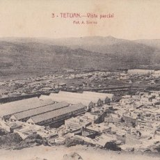 Postales: TETUAN. VISTA PARCIAL. POSTAL BLANCO Y NEGRO, SIN CIRCULAR, C. 1925-1930. EDICIÓN . Lote 57519309