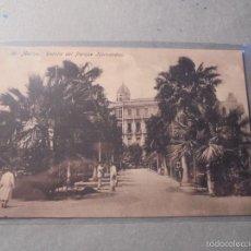 Postales: 10 - MELILLA - DETALLE DEL PARQUE HERNANDEZ - EDC. BOIX HERMANOS - 14X9 CM. . Lote 57529771
