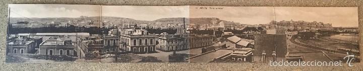 POSTAL CUADRUPLE MELILLA 16 - VISTA GENERAL - EDICION BOIX HERMANOS. (Postales - España - Melilla Antigua (hasta 1939))