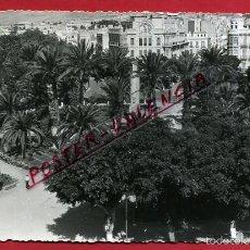 Postales: POSTAL MELILLA, JARDINES PLAZA DE ESPAÑA, P83489. Lote 57900805