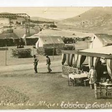 Postales: MELILLA SAN JUAN DE LAS MINAS ESTACION Y CANTINA. POSTAL FOTOGRÁFICA. ESCRITA. Lote 58482553