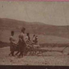 Postales: MUY BUENA FOTO POSTAL DE UNOS MILITARES EN MELILLA 1909 - ARTILLERIA MILITARIA . Lote 58589051