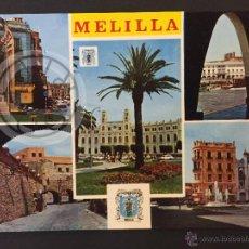 Postales: VISTAS DE MELILLA 1408,ESPAÑA. Lote 60770395