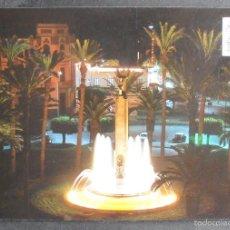 Postales: (44608)POSTAL ESCRITA,FUENTE LUMINOSA,MELILLA,MELILLA,MELILLA. Lote 61183555