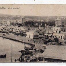 Postales: MELILLA. VISTA PARCIAL. ESCRITA EN DICIEMBRE DE 1921.. Lote 61817476