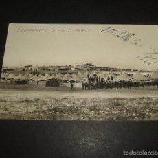 Postales: MELILLA CAMPAMENTO DE MONTE ARRUIT1917 POSTAL FOTOGRAFICA. Lote 62000560