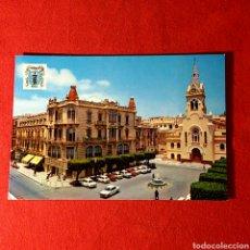 Postales: TARJETA POSTAL - MELILLA / PLAZA DE MENÉNDEZ Y PELAYO. Lote 62329104