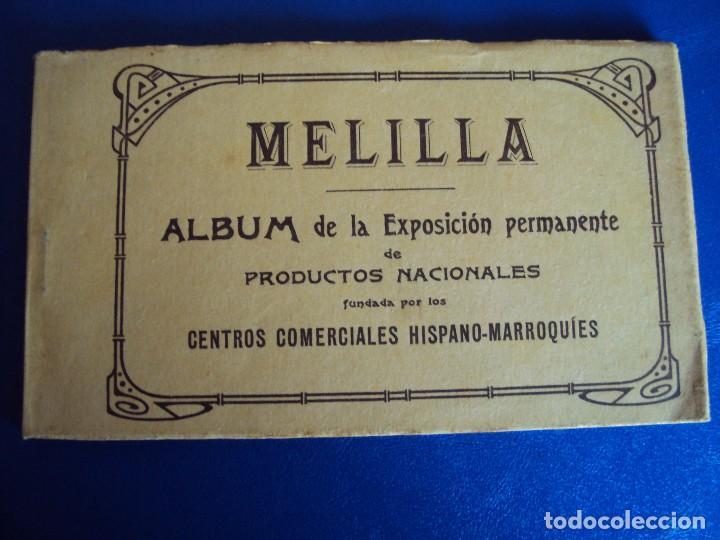 (PS-49720)BLOK DE 10 POSTALES MELILLA,EXPOSICION PERMANENTE DE PRODUCTOS NACIONALES (Postales - España - Melilla Antigua (hasta 1939))
