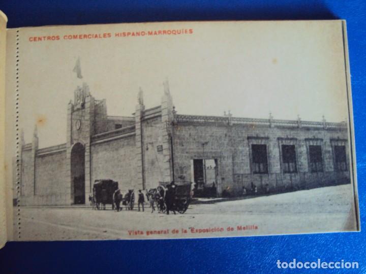 Postales: (PS-49720)BLOK DE 10 POSTALES MELILLA,EXPOSICION PERMANENTE DE PRODUCTOS NACIONALES - Foto 2 - 62368784