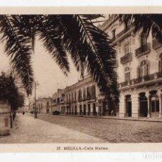 Postales: MELILLA. CALLE MARINA.. Lote 64393391
