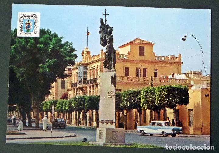 PLAZA DE TORRES QUEVEDO (MELILLA) . POSTAL SIN CIRCULAR DEL AÑO 1971 (Postales - España - Melilla Moderna (desde 1940))