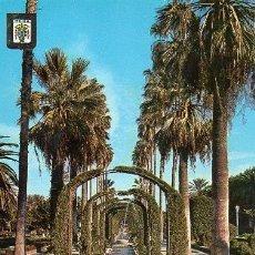Postales: MELILLA - 3 PARQUE HERNÁNDEZ. Lote 67784037