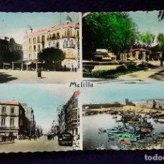 Postales: POSTAL DE MELILLA. N°56 MELILLA - CUATRO VISTAS. AÑOS 50.. Lote 68397565