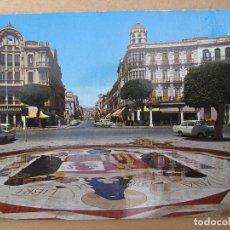 Postales: POSTAL DE MELILLA - PLAZA DE ESPAÑA - AVENIDA DEL GENERALISIMO - ESTA ESCRITA. Lote 69027597