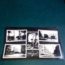 Postales: POSTAL DE MELILLA 5.VISTAS ED.RAFAEL BOIX . Lote 69914753