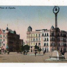 Postales: MELILLA. PLAZA DE ESPAÑA. ESCRITA EN 1923.. Lote 72045139