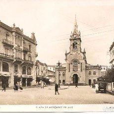 Postales: POSTAL, MELILLA, PLAZA DE MENÉNDEZ PELAYO, L. ROISIN, SIN CIRCULAR. Lote 75506991