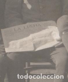 Postales: GRUPO DE MILITARES, MELILLA PROBABLEMENTE, 1915S. POSTAL FOTOGRÁFICA - Foto 2 - 76224331