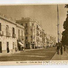Cartes Postales: MELILLA CALLE DEL GENERAL MARINA L. ROISIN, FOT. SIN CIRCULAR. Lote 77501749