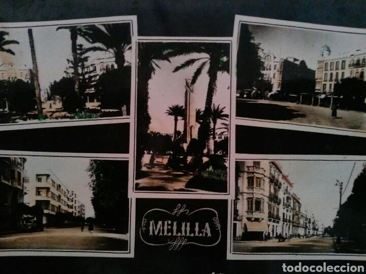POSTAL TROQUELADA DE MELILLA AÑOS 50'S (Postales - España - Melilla Moderna (desde 1940))