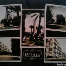 Postales: POSTAL TROQUELADA DE MELILLA AÑOS 50'S. Lote 80886308