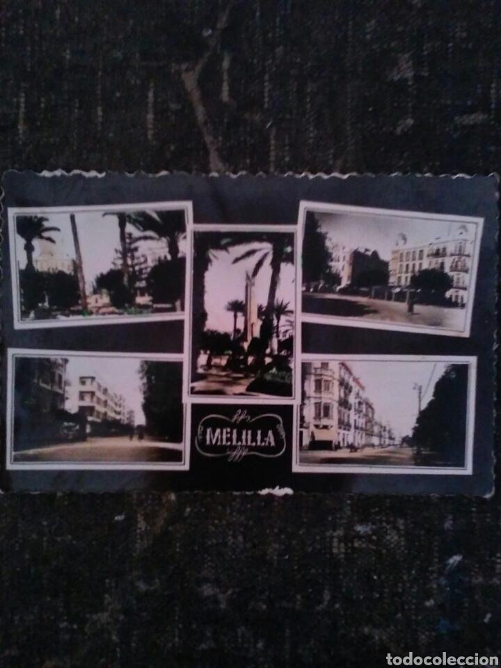 Postales: POSTAL TROQUELADA DE MELILLA Años 50s - Foto 2 - 80886308