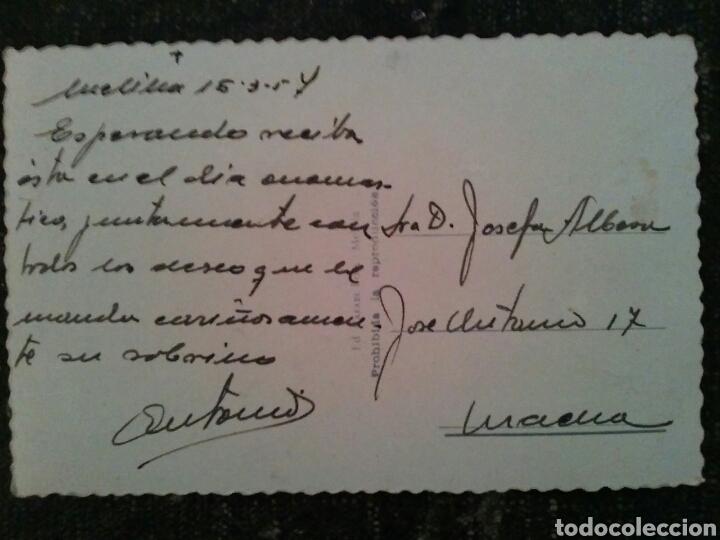 Postales: POSTAL TROQUELADA DE MELILLA Años 50s - Foto 3 - 80886308