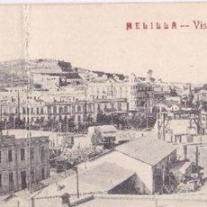 Cartoline: POSTAL MELILLA VISTA PANORAMICA. Lote 84853848