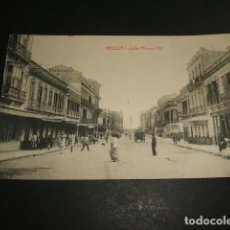 Postales: MELILLA CALLE ALFONSO XIII. Lote 86448184