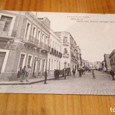 Postales: MELILLA CALLE DEL POETA ARTURO REYES. Lote 89071804