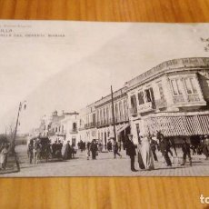 Postales: MELILLA CALLE DEL GENERAL MARINA. Lote 89072604