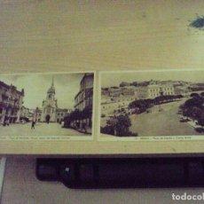 Postales: LOTE DE 2 POSTALES DE MELILLA DE LA CASA ROISIN DE LA PLAZA MENENDEZ PELAYO Y PLAZA DE ESPAÑA . Lote 90184928