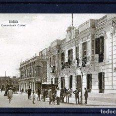 Postales: POSTAL DE MELILLA-EDICIÓN M.V.POSTAL EXPRES-COMANDACIA GENERAL DE MALILLA .. Lote 91280620