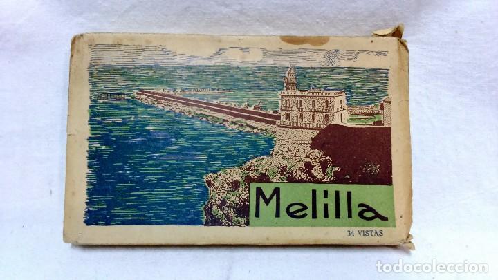 ALBUM TARJETA POSTAL MELILLA. 34 VISTAS. L. ROISIN, FOTOGRAFO. NO ESCRITAS, VER. (Postales - España - Melilla Antigua (hasta 1939))
