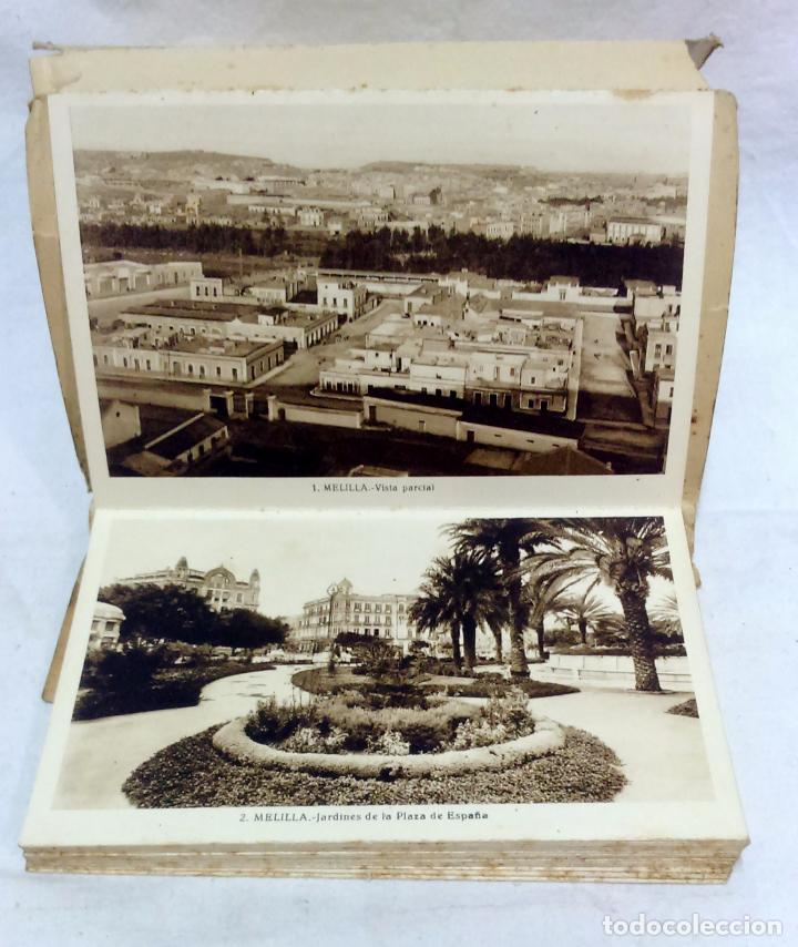 Postales: ALBUM TARJETA POSTAL MELILLA. 34 VISTAS. L. ROISIN, FOTOGRAFO. NO ESCRITAS, VER. - Foto 3 - 93258380