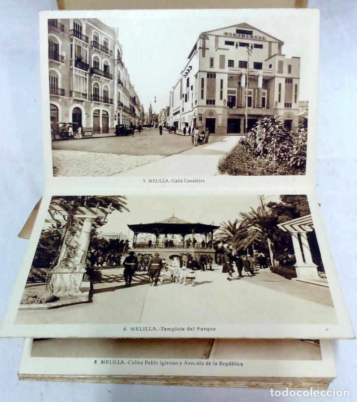 Postales: ALBUM TARJETA POSTAL MELILLA. 34 VISTAS. L. ROISIN, FOTOGRAFO. NO ESCRITAS, VER. - Foto 4 - 93258380