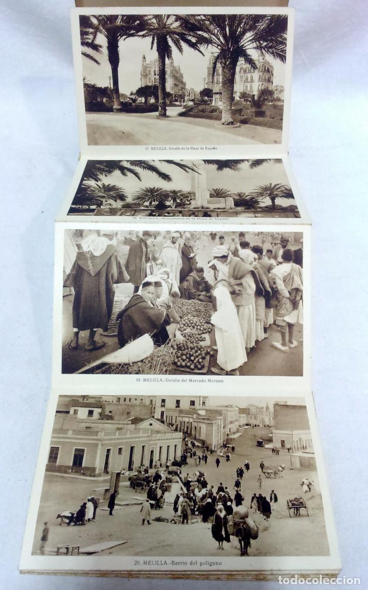 Postales: ALBUM TARJETA POSTAL MELILLA. 34 VISTAS. L. ROISIN, FOTOGRAFO. NO ESCRITAS, VER. - Foto 6 - 93258380