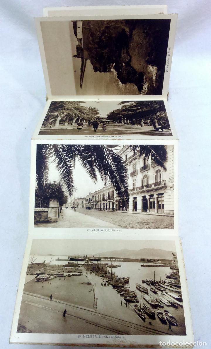 Postales: ALBUM TARJETA POSTAL MELILLA. 34 VISTAS. L. ROISIN, FOTOGRAFO. NO ESCRITAS, VER. - Foto 7 - 93258380