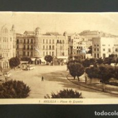 Postales: POSTAL MELILLA. PLAZA DE ESPAÑA. . Lote 94129295