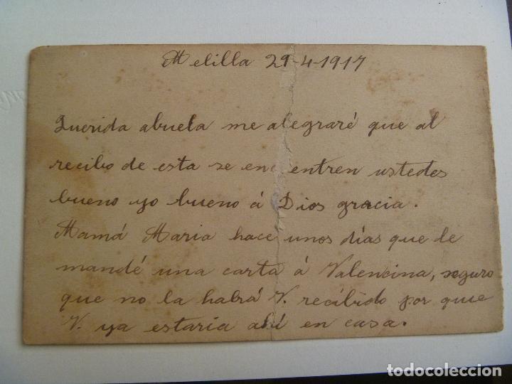 Postales: POSTAL DE MELILLA . 1917 - Foto 2 - 94181185