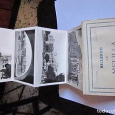 Postales: RECUERDO DE MELILLA EDICIONES BOIX HERMANOS. Lote 95753827