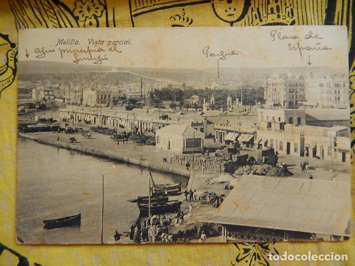 MELILLA VISTA PARCIAL. EDICIÓN BOIX HERMANOS. (Postales - España - Melilla Antigua (hasta 1939))