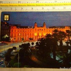 Postales: POSTAL DE MELILLA. AÑO 1963. PLAZA DE ESPAÑA NOCTURNA. 805. Lote 97089039
