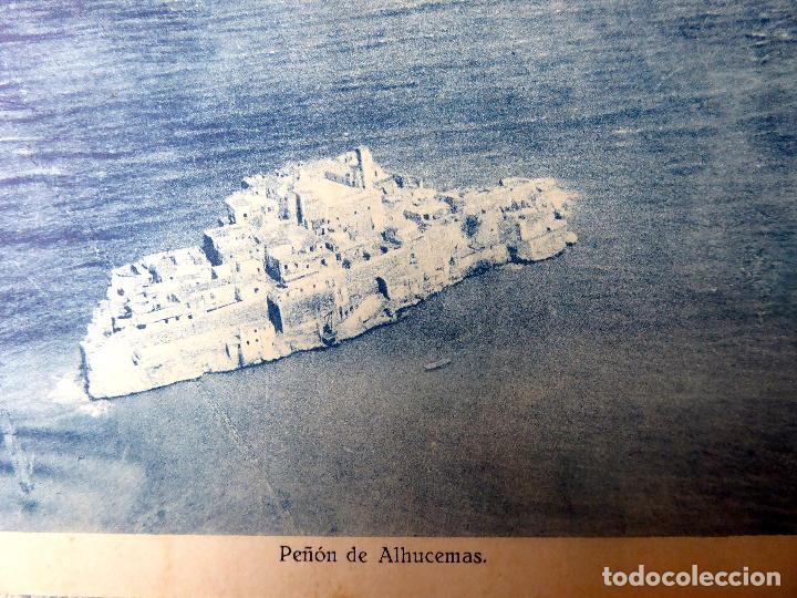 P-7335. PEÑON DE ALHUCEMAS (MELILLA) VISTA GENERAL. (Postales - España - Melilla Antigua (hasta 1939))